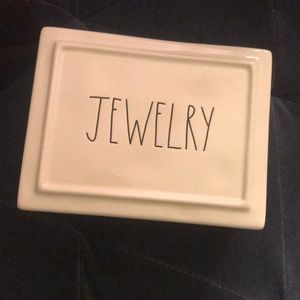Rae Dunn jewelry box NEW